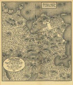 Antique Map of Rio de Janeiro Brazil 1808