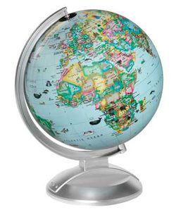 Kids Illuminated World Globe 10