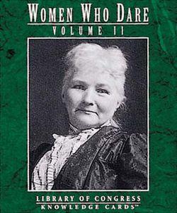 Women Who Dare Volume 2 Knowledge Cards