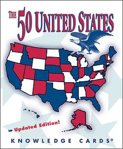 50 U.S. States Knowledge Cards