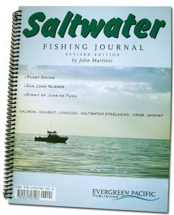 Saltwater Fishing Journal, Puget Sound by Evergreen Pacific