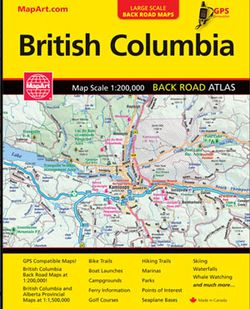 British Columbia Road Atlas