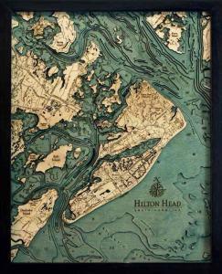 Hilton Head Woodchart