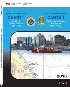 Nautical Chart Number 1 - Canada