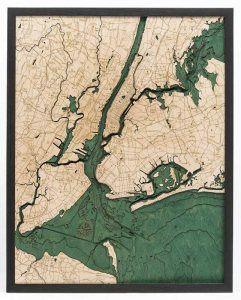 New York City Woodchart