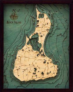 Block Island, RI Woodchart