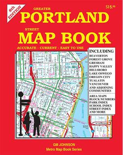 Portland Map Book by GM Johnson
