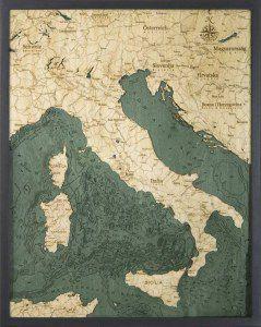 Italy Woodchart