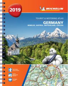 Germany Road Atlas Spiralbound by Michelin