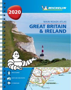 Great Britain & Ireland Atlas Spiralbound by Michelin