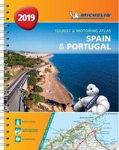 Spain & Portugal Road Atlas Spiralbound by Michelin