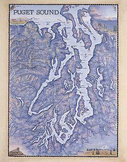 Puget Sound Art Print & Poster