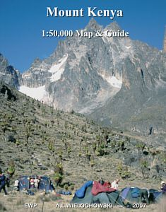 Mt Kenya Hiking Map