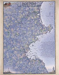 Boston Art Print & Poster