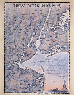 New York Harbor Art Print & Poster