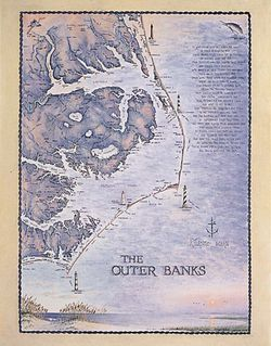 Outer Banks Art Print & Poster