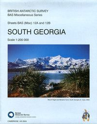 South Georgia Topographic Map