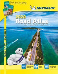 North America Road Atlas Spiral Bound by Michelin