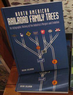 North American Railroad Family Trees by Brian Solomon
