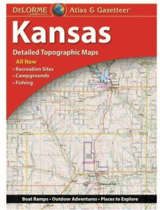 Kansas Atlas & Gazetteer by DeLorme