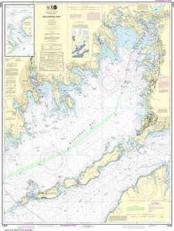 Nautical Chart 13230 Buzzards Bay