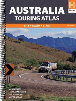 Australia Touring Atlas Spiral by Hema