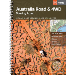 Australia 4WD Touring Atlas by Hema