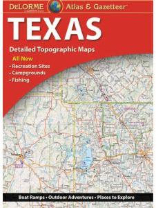 Texas Atlas & Gazetteer by DeLorme