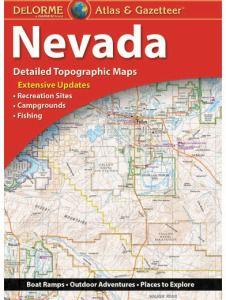 Nevada Atlas & Gazetteer by DeLorme