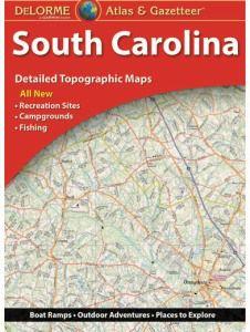 South Carolina Atlas & Gazetteer by DeLorme