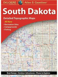 South Dakota Atlas & Gazetteer by DeLorme