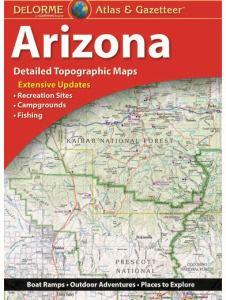Arizona Atlas & Gazetteer by DeLorme