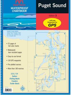 Puget Sound Chartbook by Maptech