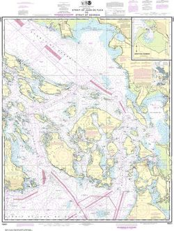 Nautical Chart 18421 - Strait of Juan de Fuca to Strait of Georgia