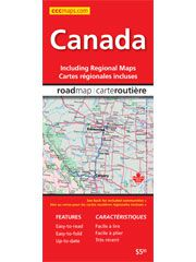Canada Road Map by Mapart
