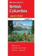 British Columbia Road & Travel Map