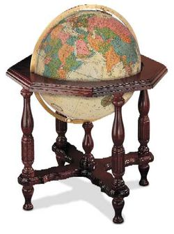 Statesman World Globe - 20