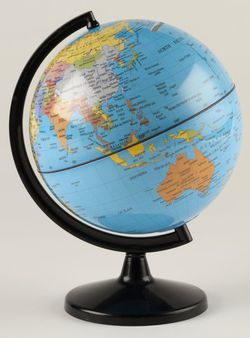World Globe Coin Bank