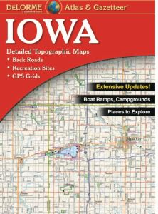 Iowa Atlas & Gazetteer by DeLorme