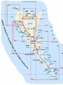 Queen Charlotte Strait & Johnstone Strait Nautical Charts