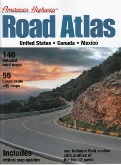 US Road Atlas - Small - by America Highway