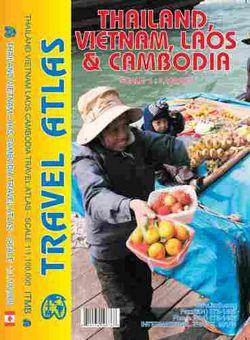 Thailand, Vietnam, Laos & Cambodia Road Atlas by ITM
