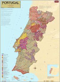 Portugal Wine Region Map
