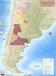 Argentina Wine Region Map