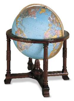 Diplomat World Globe - Illuminated 32