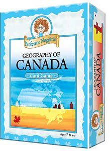 Professor Noggin's Geography of Canada Trivia Cards