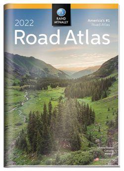 Road Atlas 2022 USA (Vinyl Cover) l Rand McNally
