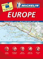 Europe Road Atlas Spiralbound by Michelin