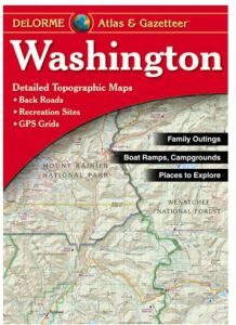Washington Atlas & Gazetteer by DeLorme