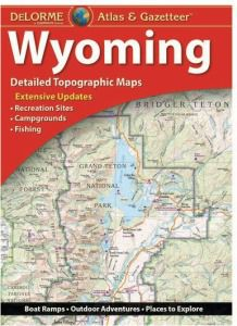 Wyoming Atlas & Gazetteer by Delorme
